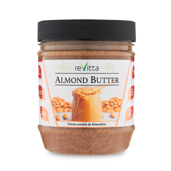 Mantequilla de almendras (Almond Butter)