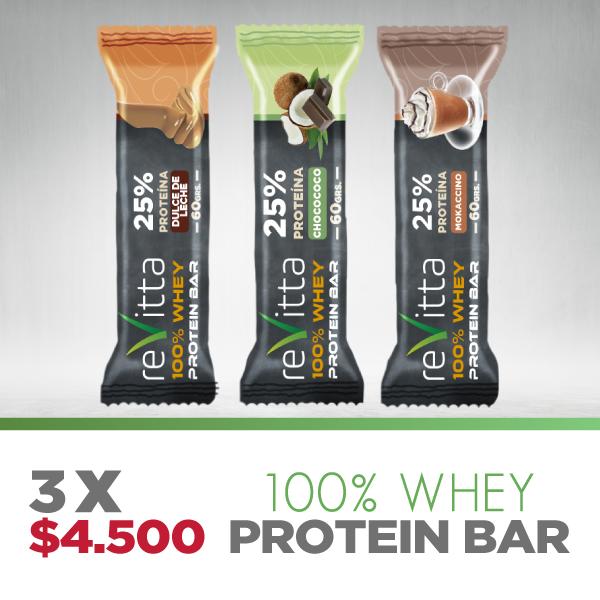Barrita de proteína Whey